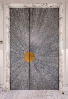 Genial Sick Entry Door With Marble Trim
