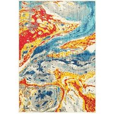 Shop for Style Haven Bold Abstract Waves Stone/Multicolor Polypropylene Area Rug (9'10 x 12'10). Get free shipping at Overstock.com - Your Online Home Decor Outlet Store! Get 5% in rewards with Club O!
