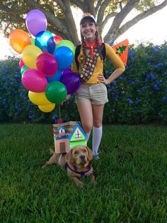 83cdf5a02327560317e5399b1b85cfa6 23 ingenious couples costumes you can wear with your dog this Halloween