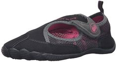 Body Glove Women's Horizon Athletic Water Shoe, Black/Pink, 5 M US *** You can get additional details at the image link.