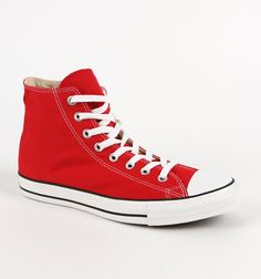 Converse Chuck Red All Star Hi Sneaker