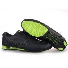 Nike Shox Rivalry Shoes Black Grass Green