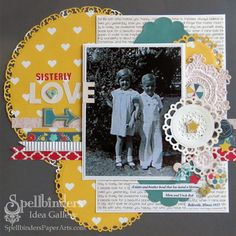 Sisterly Love - Scrapbook.com
