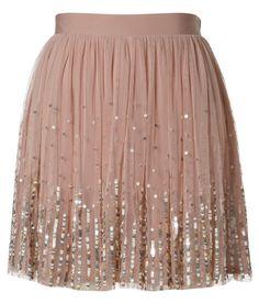 <3 Lipsy Sequin Detail Tutu Skirt