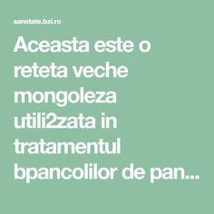 Aceasta este o reteta veche mongoleza utili2zata in tratamentul bpancolilor de pancreas. Este extrem de utila persoanelor care sufera de diabet