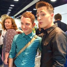 When he fangirled over Frodo Baggins. | 24 Times Colton Haynes Killed It On Instagram