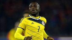 Eliminatorias Rusia 2018: El colombiano Pablo Armero quedó descartado para jugar contra Perú