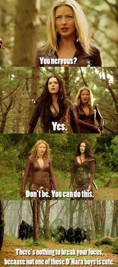 Secretly sisters. Really.