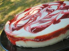 Make and share this Cherry Swirled Cheesecake recipe from Food.com.