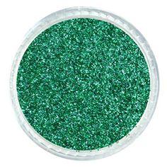 Brilliant Green Emerald Glitter – Solvent Resistant Glitter from Glitties   #glitter #glitties #green