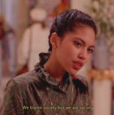 We blame society but we are society. December 31 2019 at fashion-inspo Quotations, Qoutes, Movie Lines, Film Quotes, Quotes From Movies, Quote Aesthetic, Mood Quotes, Beautiful Words, Inspirational Quotes