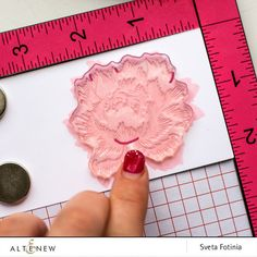 Hello, dear readers! Sveta is here today and I want to share with you two monochromatic cards using incredible Peony Bouquet Stamp set!Most of all I like detailed lines in this stamp set, so I wanted to create something simple and eye catching. I added only one bold layer of peony's leaves andusedJet Black Crisp …