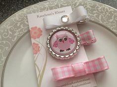 Pink Owl Toddler Hair Clips  Baby Hair Clips  by katelynnskloset, $6.95