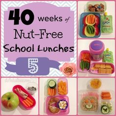 Week 5 of 40 Weeks of Nut Free Kids School Lunches StuffedSuitcase.com #lunch #ideas