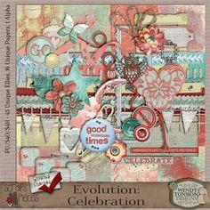 Evolution *Celebration* {PU/S4O/S4H} [wt_EvCel] - $4.99 : Scraps N Pieces Store