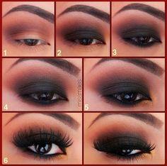 Cute Daring eye look