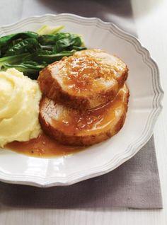 Ricardo's recipe: Orange and Honey Turkey Breast Egg Recipes, Turkey Recipes, Chicken Recipes, Slow Cooker Recipes, Crockpot Recipes, Cooking Recipes, Slow Cooking, Ricardo Recipe, Confort Food