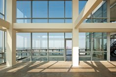 The penthouse loft condo,  The living room is a blank canvas just waiting for some new ideas.