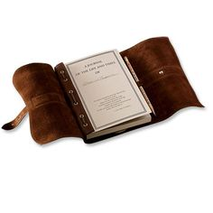 Refillable Leather Travel Journal / Personalized Genuine Leather Journal -- Orvis...$145