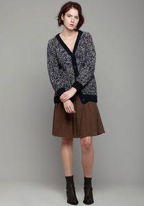mm6 by maison martin margiela knit cardigan