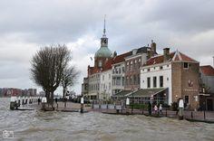 Hoogwater Dordrecht Groothoofd