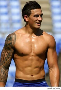 Sonny Bill Williams - New Zealand Rugby Player (You, sir, are very handsome and I love your tattoo)