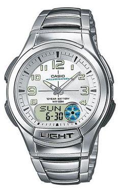 Casio AQ-180WD-7BVES Collection heren horloges op Horlogeloods.nl!