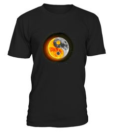 Make sure you, your friends, and family are prepared for the upcoming U.S. solar eclipse, when the moon passes completely between the sun and the earth and it is seen in the starry night sky. Wear this tshirt tee yourself or gift it to someone special.     TIP: If you buy 2 or more (hint: make a gift for someone or team up) you'll save quite a lot on shipping.     Guaranteed safe and secure checkout via:  Paypal | VISA | MASTERCARD     Click the GREEN BUTTON, select your size and st...