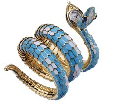 BVLGARI snake watch