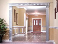 what kind of molding to use for wainscoting | See different applications of wainscoting in the gallery.