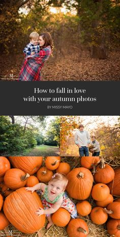 Bold colors, golden sun, and beautiful weather make fall the perfect season for photos. See why here! #fall #autumn #clickinmoms