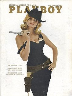 Playboy Magazine, June In this issue: The Girls of Texas, Playboy Interview with Mike Nichols, The Bogart Boom by Tynan and Crowther Bikini Tan Lines, Tan Bikini, Vintage Playmates, Playboy Playmates, Erika Eleniak, Mike Nichols, Magazin Covers, Pin Up, Playboy Logo