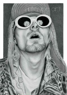 Mister Cobain   Pencil drawing on Hahnemühle paper/A4 size. His jacket drove me crazy 😂