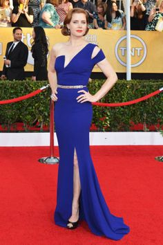 Click throuh to see our Top 10 Best Dressed at the SAG Awards: Amy Adams