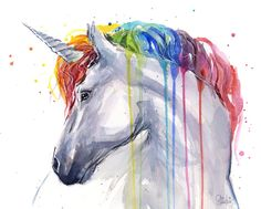 Image result for rocks paintings with unicorns