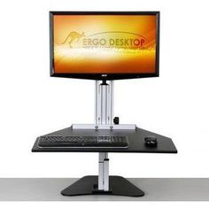 10 best sit stand desk risers images rh pinterest com
