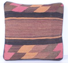 Kilim Pillow cover Gilim Cushion  KelRug Pillow cover from Afghanistan Nr. 70102