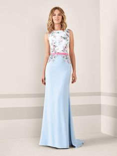 95 Mejores Imágenes De Vestidos De Fiesta Azules En 2019