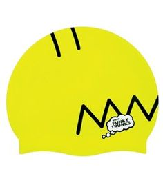 Funky Trunks Homer Head Silicone Swim Cap Swim Caps 3809c9c7cef