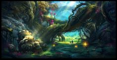Magic Forest_2 by ~ivany86 on deviantART