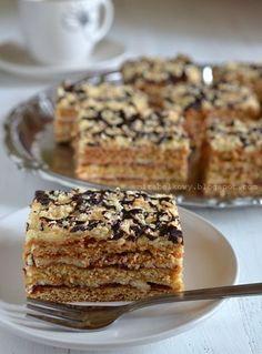 Polish Cake Recipe, Polish Recipes, Polish Food, Honey Cake, Pumpkin Cheesecake, Food Cakes, Banana Bread, Nom Nom, Cake Recipes