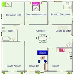 1000 images about planos on pinterest l shaped house for Planos en tres d