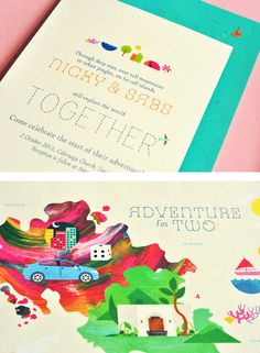 Adventure for Two Invites → more on designvertise.com