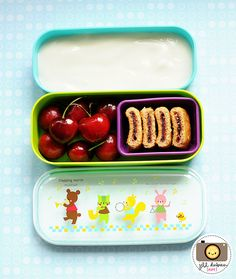 "TIP: Of course we all want kids to eat healthy snacks but it seems that they often want something else! For some reason putting a snack in a little container with a lid on it and using the words ""surprise inside"" really make kids more excited to eat it!  http://www.facebook.com/parenting.coach.alison.astair"