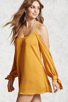 Product Name:Satin Open-Shoulder Dress, Category:dress, Price:19.9