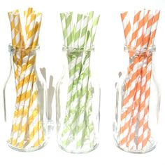 straws for baby showers