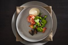 Lobster Poached with Snap Peas and Morels- By Chef James Kent