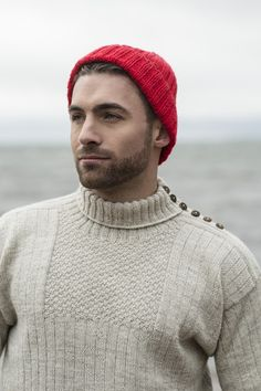 Beanie and hat patterns by Novita, Beanie made with Novita 7 Brothers yarn #novitaknits #knitting #knit https://www.novitaknits.com/en