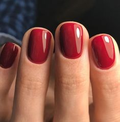 How to use nail polish? Nail polish in your friend's nails looks perfect, however you can't apply nail polish as you want? You can get rid of nai Simple Nail Designs, Nail Art Designs, Nails Design, Salon Design, Ten Nails, Red Tip Nails, Deep Red Nails, Halloween Nail Designs, Halloween Nails