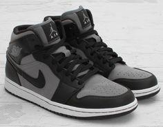 "Air Jordan 1 Mid – ""Cool Grey/Black/White"" (retail $150)"